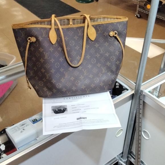 🧜🏻♀️Louis Vuitton Neverfull MM Purse w/Dustbag